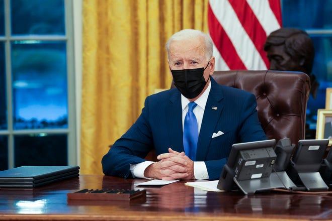 President Joe Biden on Feb. 2, 2021, in Washington, D.C.