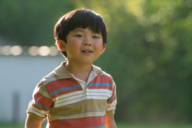 "Alan Kim played a Korean-born child growing up in Arkansas in ""Minari"""