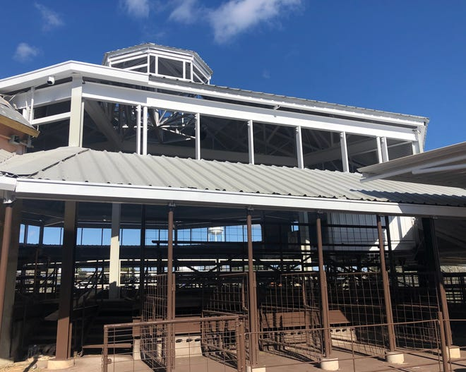 Rotary Park pavilion renovation project completed.