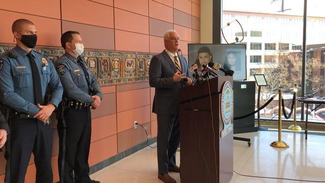 Bucks County District Attorney Matt Weintraub talks about a recent drug arrest which led to investigators seizing about $4 million in drugs.