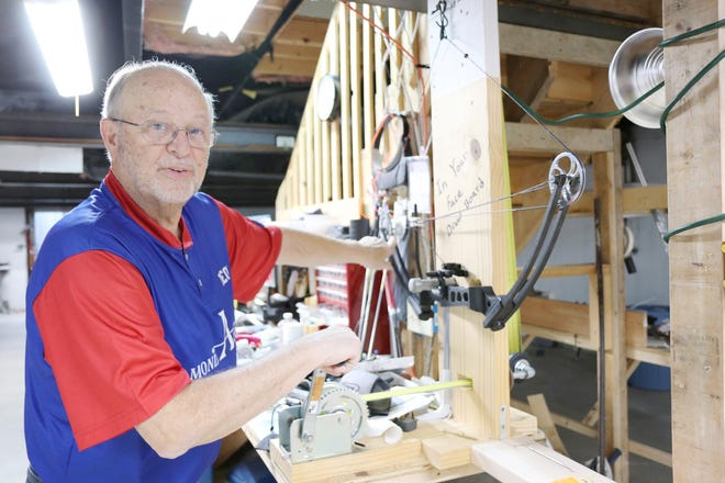Leon Hutton of Rose Hill has seen a lot from behind his bow and arrow in the last 52 years — rare animals, trophy bucks and an armless archer. Hutton competes in archery, and he hunts regularly.