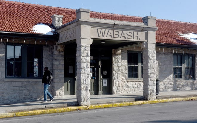 The Wabash Bus Station at 126 N. Tenth St.