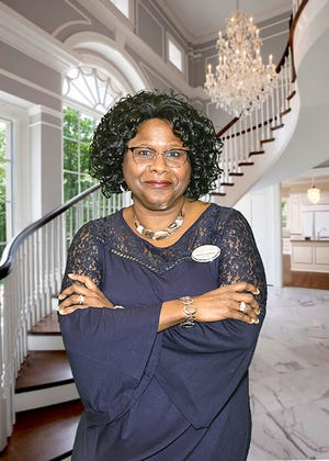 Veteran Tracye Thompson spent 20 years in the US Marine Corps in subsistence supply.
