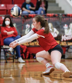 Glen Rose junior libero Cam Hinton was named Texas Sports Writers Association Class 4A First-Team All-State earlier this week. Hinton led the Lady Tigers with 569 digs and 54 service aces in 2020. She is the school record-holder for digs in a match (43) and digs in a season (621). She has verbally committed to play volleyball at Harding University in Searcy, Arkansas.