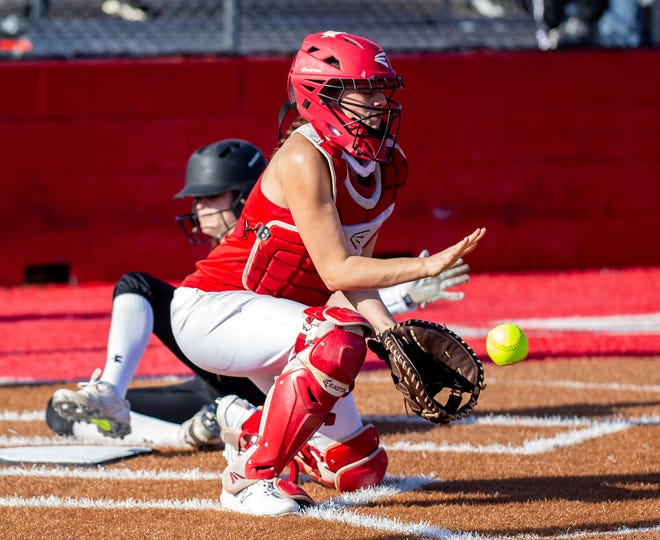 Glen Rose catcher Felicity Austin will be counted on to provide leadership for the Lady Tigers.