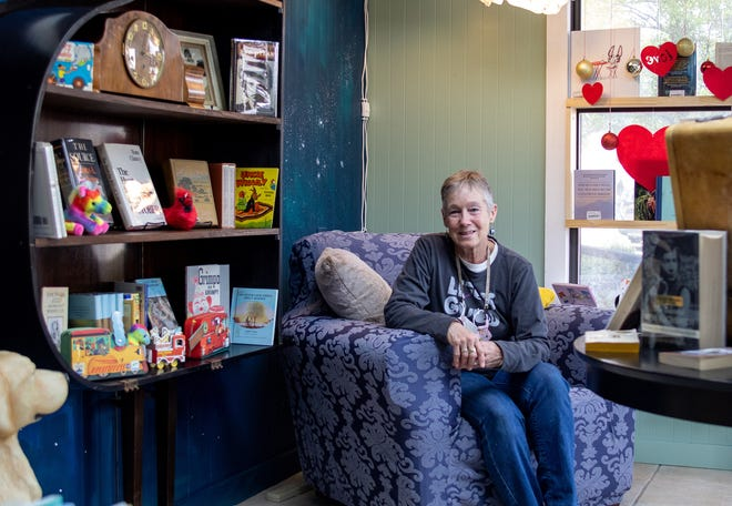 Janet Mills opened Rhythm & Co Books on the Downtown Square in late November.