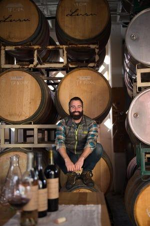 David Teixeira, proprietário das Lusu Cellars, com sede em Berkeley, Califórnia.