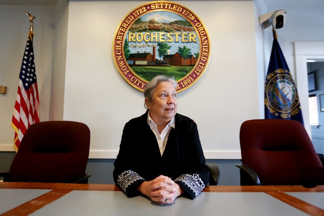 Rochester Mayor Caroline McCarley City Hall is resigning before her term ends.