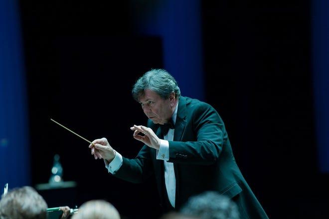 Palm Beach Symphony Music Director Gerard Schwarz.