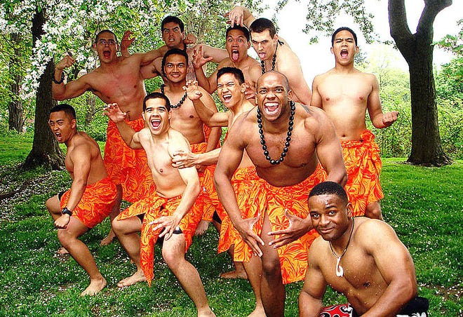 May is Asian Pacific American Heritage Month. West Point Cadets performed the Haka Dance during the eighth annual West Point Asian Pacific American Observance Celebration at Trophy Point. A Haka is a traditional posture dance form with shouted accompaniment of the Maori of New Zealand.