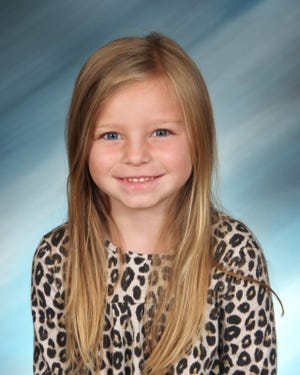Taylyn Speers, virtual Kindergartener, Bethel's Master of Manners the month of February.  PROVIDED