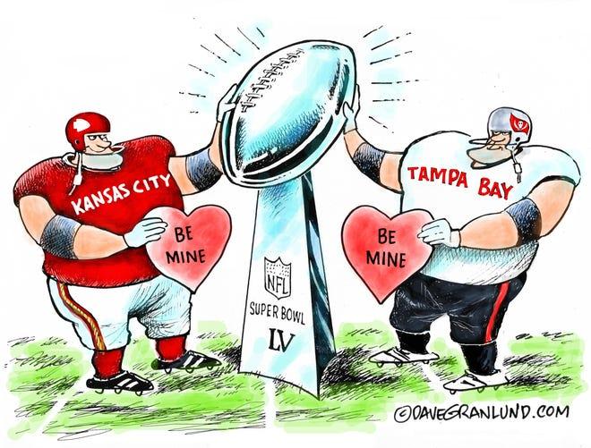Granlund cartoon: Be mine