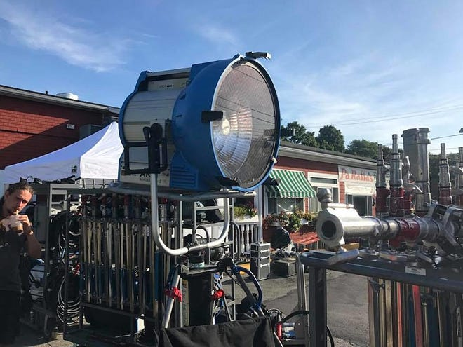 Equipment ready to use on the set of the film Jungleland (2019)