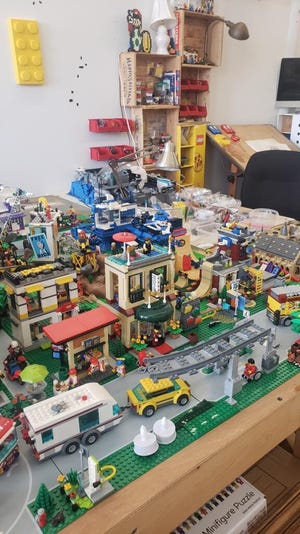 The LEGO city continues to expand.