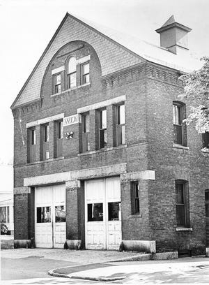 """The former, termite-infested Brittan Square """"fire barn"""" on Burncoat Street in Worcester."""