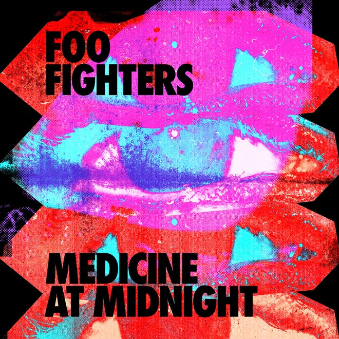 """""""Medicine at Midnight"""" by Foo Fighters."""
