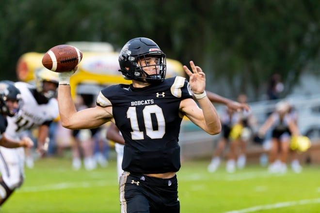 Buchholz quarterback Jack Hevesy signed with Division I Arkansas State on Wednesday.