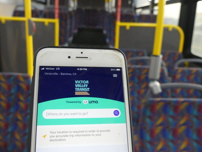 The Victor Valley Transit Authority on Wednesday, Feb. 3, 2021, unveiled tthe Umo Mobility App and Pass, which the agency said will make the travel experience easier for passengers.