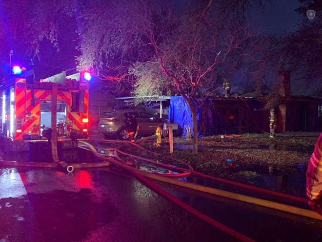 A lit candle that fell on a bed appears to be the cause of an early morning fire on Feb. 1 that killed a woman and injured two males in Natchitoches, according to the Louisiana State Fire Marshal's Office.
