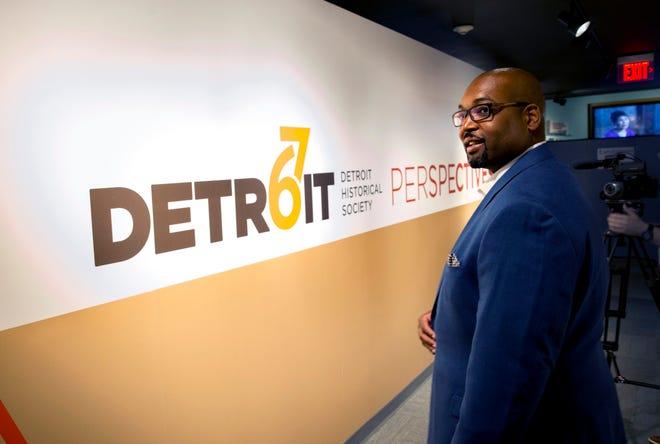 Detroit 67 Perspective and MASH Detroit- Marlowe Stoudamire, CMU graduate. Photo by Steve Jessmore/Central Michigan University.