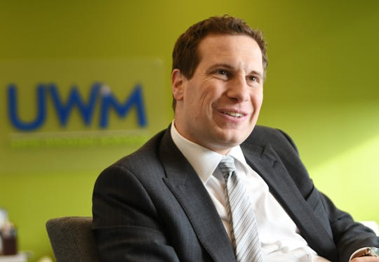 Mat Ishbia is the CEO of United Wholesale Mortgage Holdings Corp.