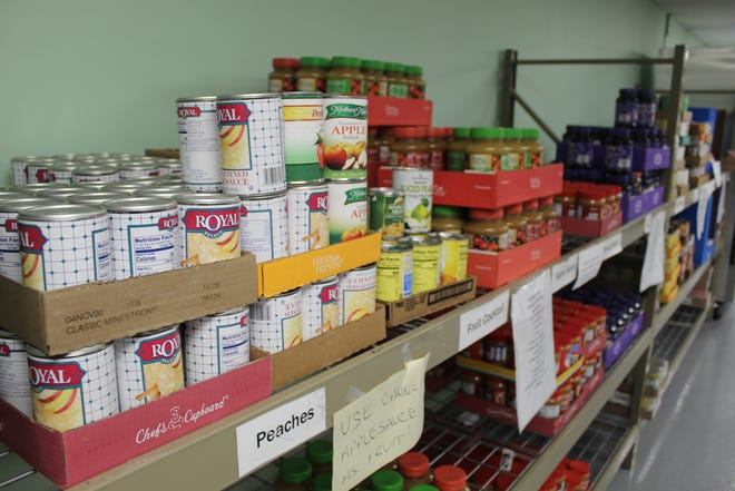 The Sandusky County Food Pantry served approximately 7,800 people in 2020.