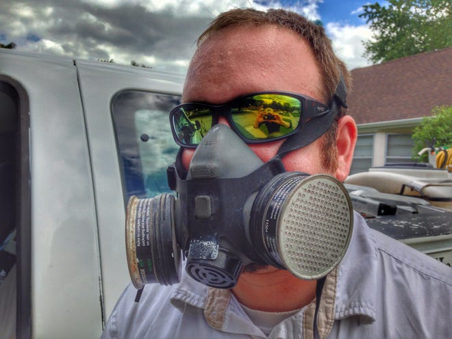 Josh Erdman transitioned from property management to pest control in 2012.