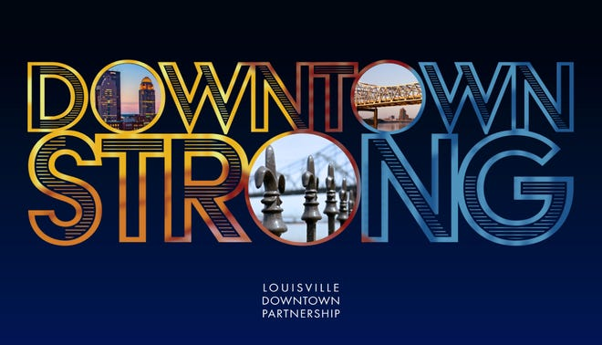 """The """"Downtown Strong"""" campaign launched on Feb. 2, 2021."""