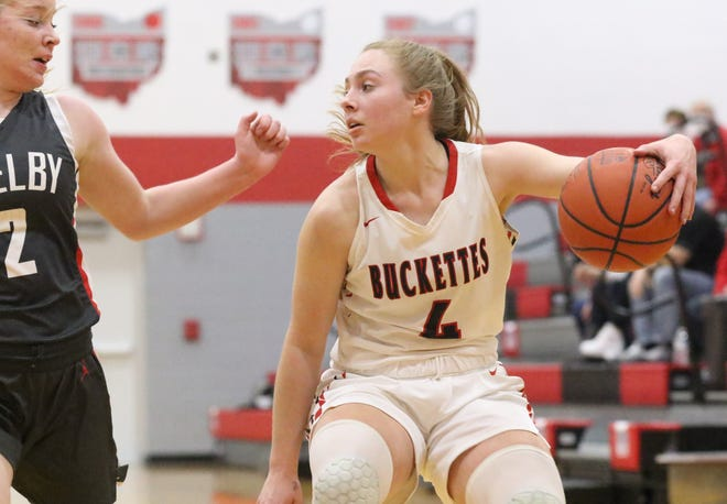 Buckeye Centrals' Claudia Pifher earned a nomination after scoring 50 points over two games for the Buckettes last week.