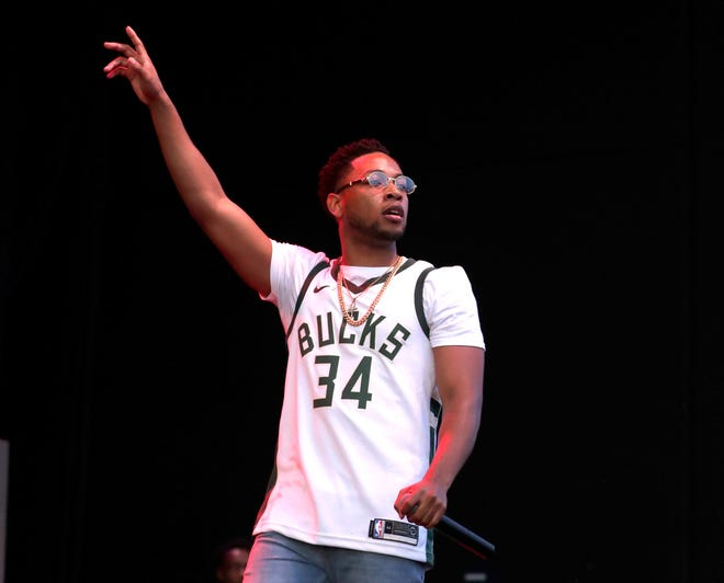 """Actor and singer Jacob Latimore, shown performing at Summerfest in 2019, is set to co-star in a """"re-imagining"""" of the 1990 cult hit movie """"House Party."""""""