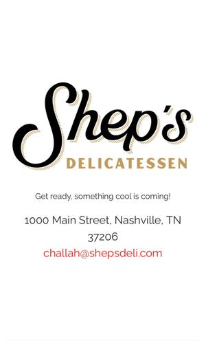 Shep's Deli will open in late February in East Nashville in the spot where Marche Artisan Food operated
