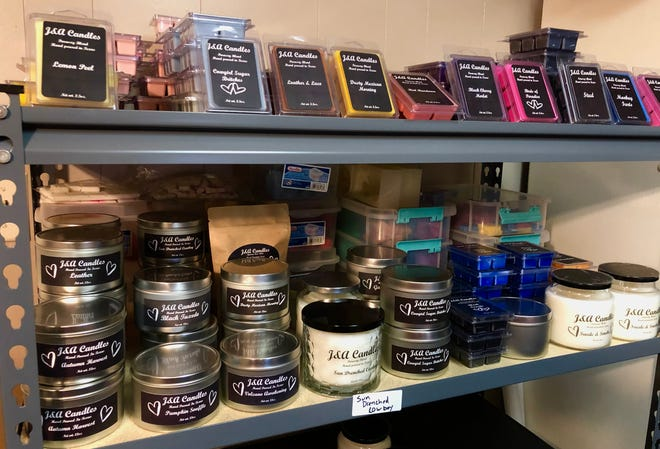 J&A candles and waxes.