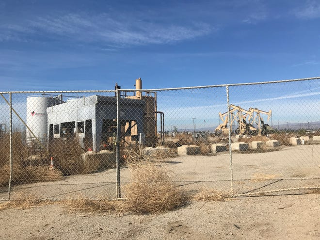 This photo shows a portion of Peak Operator's facilities outside Oxnard.