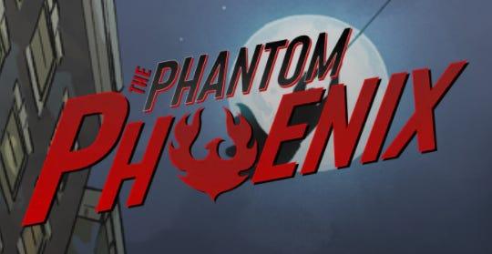 """The Phantom Phoenix"" is a comic book written by Philip Kosloski of Wisconsin Rapids."