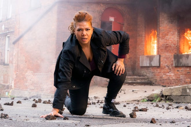 "Queen Latifah as Robyn McCall in ""The Equalizer."""