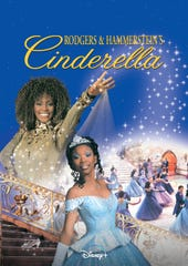 """""""Rogers and Hammerstein's Cinderella"""" starring Brandy Norwood and Whitney Houston is streaming on Disney+ Feb. 12."""