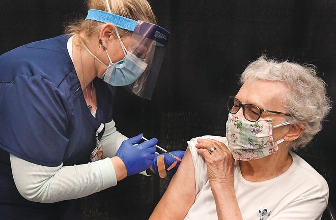 """""""Let people get vaccinated where they are as long as they are in the priority population."""" Dr. Georges Benjamin, executive director of the American Public Health Association, said when asked if snowbirds should be allowed to get vaccinated in places like Arizona and Florida instead of their home state."""