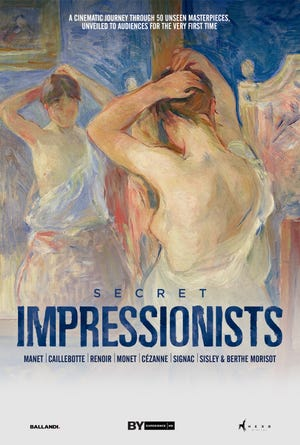 """""""Secret Impressionists"""" documentary to show at The Goddard Center on Saturday, February 13th at 2 p.m."""
