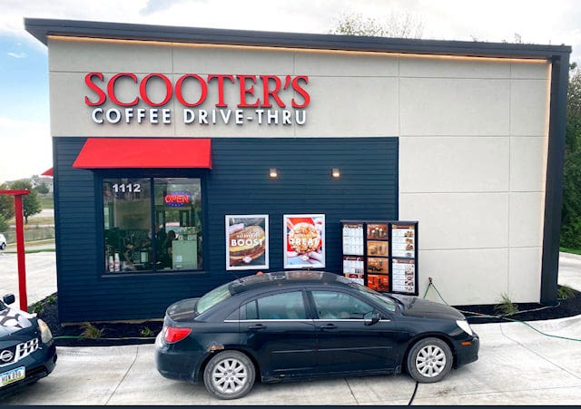 Scooter's Coffee, a drive-thru specialty coffee and pastries franchise, recently added a new location at 2000 West Central Avenue in El Dorado.