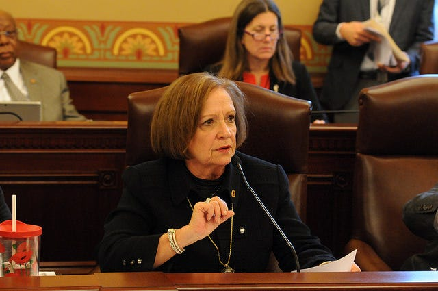 State Representative Norine Hammond (R-Macomb) has been reappointed as the Republican Spokesperson for the Consumer Protection Committee and the Human Services Committee in the Illinois House of Representatives.