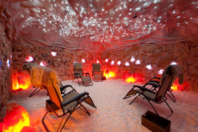 Why not indulge in some self-pampering at Tranquility Salt Cave?