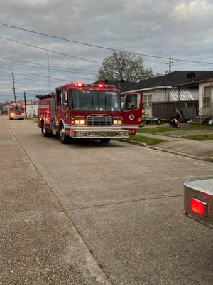 The Houma Fire Department was called out around 5:30 p.m. Thursday to the 600 block of Margaret Street on the west side of Houma for a house fire.
