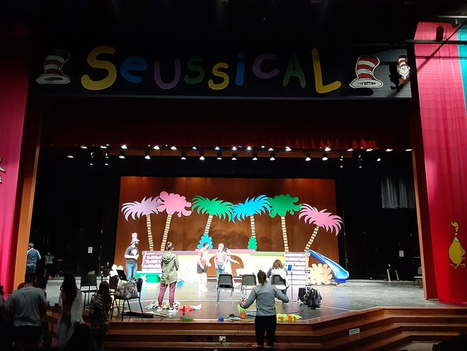 "The Dodge City High School production of 'Seussical"" is being performed with COVID-19 prevention measures in place for both players and guests."