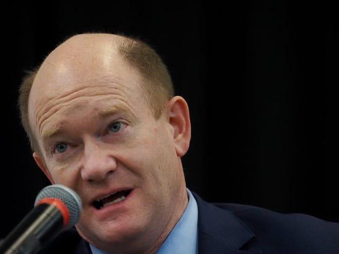 Sens. Chris Coons, D-Delaware, and Tim Scott, R-South Carolina, and Reps. Tom Suozzi, D-New York, and John Moolenaar, R-Michigan, co-chaired the 69th annual National Prayer Breakfast, held Feb. 4 virtually, due to the COVID-19 pandemic.