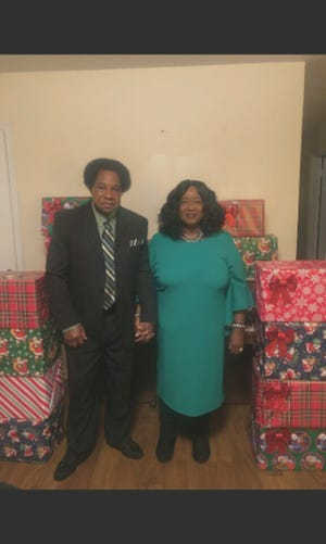 Albert Isom Clinton Sr. and Evangelist Vicky Meeks Clinton