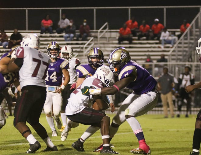 Ascension Catholic defensive lineman J'Mond Tapp was a first-team All-Metro selection.