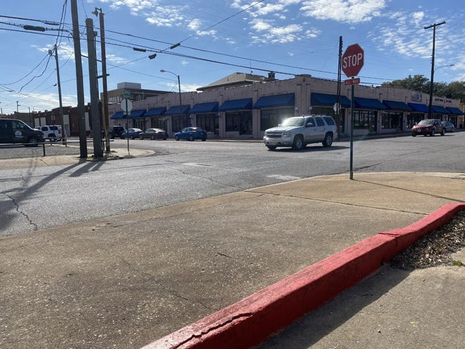 The area near the intersection of Walnut and Mulberry streets in Sherman could be the future site of a historical marker recognizing the Black business district that was previously housed there.