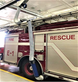 Exhaust extraction systems were purchased and installed at both Aurora Fire Department stations in 2020, and were funded by a $138,680 FEMA grant. The city's contribution was $6,603.