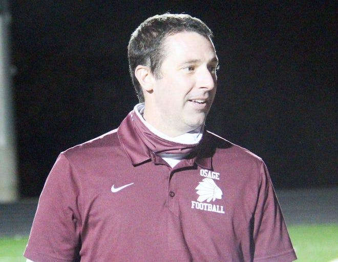 Osage coach Devin Johnson.