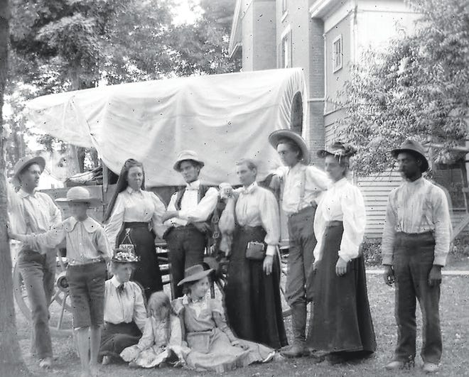 Looking back at an 1889 Camden County camping trip.